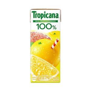 【送料無料】【2ケースセット】キリン トロピカーナ 100% グレープフルーツ 250ml紙パック×24本入×(2ケース) nozomi-market