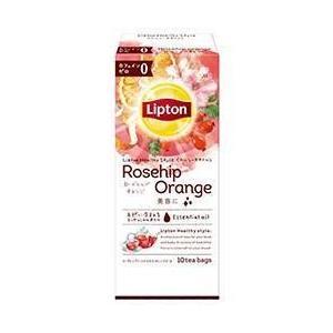 送料無料 リプトン ヘルシースタイル ローズヒップ・オレンジ ティーバッグ 10袋×6個入 nozomi-market
