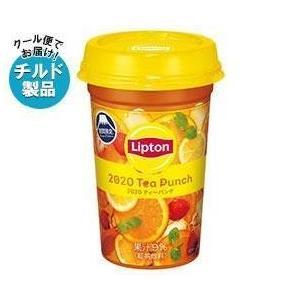 【送料無料】【チルド(冷蔵)商品】森永乳業 リプトン Summer Tea Punch (サマー・ティーパンチ) 240ml×10本入 nozomi-market