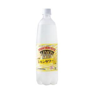 【送料無料】【2ケースセット】友桝飲料  レモンサワー 1Lペットボトル×15本入×(2ケース)|nozomi-market