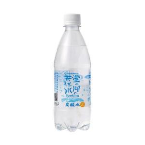 【送料無料】友桝飲料 蛍の郷の天然水スパークリング 500mlペットボトル×24本入|nozomi-market