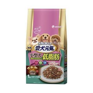 送料無料 ユニチャーム 愛犬元気 小型犬低脂肪 ささみ・緑黄色野菜・小魚入り 1kg×6袋入|nozomi-market