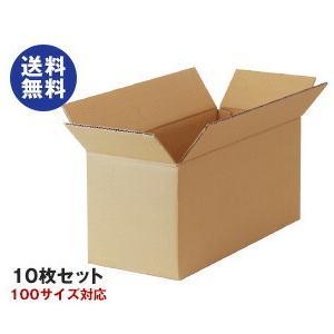 【送料無料】ダンボール箱(段ボール箱) 10枚セット (外寸465mm×195mm×214mm C5) nozomi-market