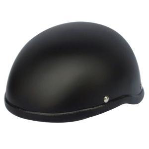 ダックテールヘルメット 装飾用 フリーサイズ マットブラック ホワイト 全2色 半キャップ 半帽 半...
