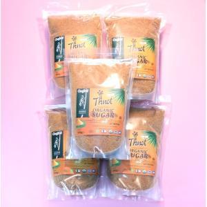 ココナッツシュガー パームシュガー ヤシ砂糖 500g×5袋 100%オーガニック ECOCERT 有機認証 無添加 無精製(全国送料無料)