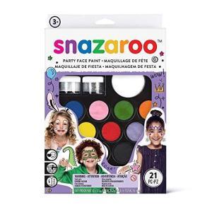 snazaroo フェイスペイント キット パーティーパック|ns-progress