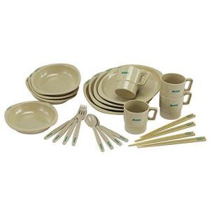 ロゴス(LOGOS) 食器 箸付きディナーセット4人用 収納袋付き ns-progress