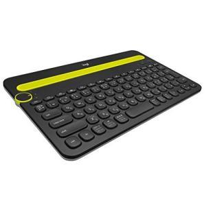ロジクール ワイヤレスキーボード K480BK Bluetooth キーボード ワイヤレス 無線 Windows Mac iOS Android Ch|ns-progress