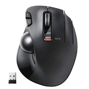 エレコム マウス ワイヤレス (レシーバー付属) トラックボール 6ボタン ブラック M-XT3DRBK|ns-progress
