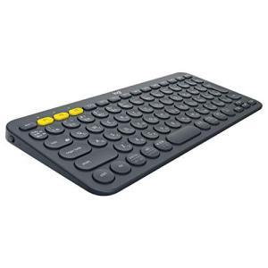 ロジクール ワイヤレスキーボード 無線 キーボード 薄型 小型 K380BK Bluetoothワイヤレス Windows Mac iOS Andro|ns-progress