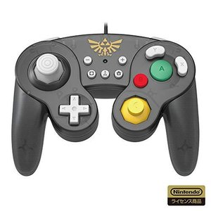 【任天堂ライセンス商品】ホリ クラシックコントローラー for Nintendo Switch ゼルダ【Nintendo Switch対応】 ns-progress