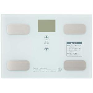 オーム電機 体重体組成計 ホワイト [品番]08-0491 HB-KG11R1-W|ns-progress