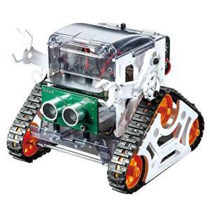 タミヤ プログラミング工作シリーズ No.01 マイコンロボット工作セット クローラータイプ 71201|ns-progress