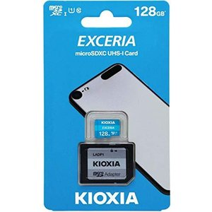microSDXC 128GB EXCERIA 超高速UHS-I CLASS10 KIOXIA フルHD動画撮影 専用SDアダプター付 [並行輸入品]|ns-progress