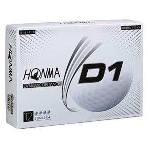 本間ゴルフ D1ボール ハイナンバー ホワイト ns-progress