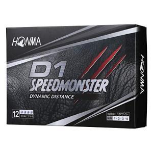 本間ゴルフ HONMA ゴルフボール D1 SPEED MONSTER スピードモンスター 1ダース 12個入 ホワイト ns-progress