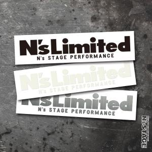 N's stage Newステッカー N'SLILITEDロゴ|ns-stage