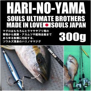 SOULS【HARI-NO-YAMA】ジグ 300g|ns-stage