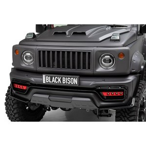 送料無料!! WALD Black Bison(ブラックバイソン)エアロ2点キット (F+R)バンパー用LEDセット スズキジムニーシエラJB74用 ns-stage