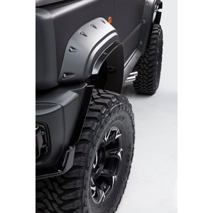 WALD Black Bison(ブラックバイソン)オーバーフェンダー+OF飾りビス(ブラック)セット スズキ ジムニーシエラJB74用 ns-stage
