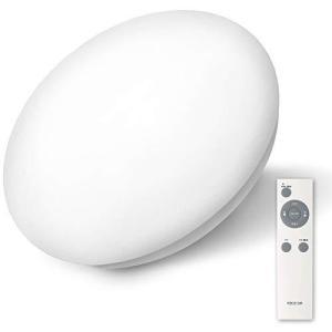 AGLED LEDシーリングライト 調光 6畳 (日本照明工業会基準) 3200lm 直径45cm メーカー保証 リモコン付き アイリスオーヤマ 常夜の画像
