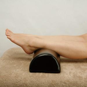 半円ロングマクラ ( 小サイズ ) 高さ8cm 全2色 「 マッサージ枕 整体枕 足枕 フットピロー 足まくら 」◆ nshop-y 06