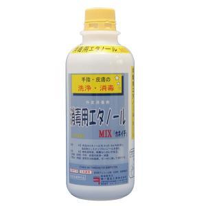 消毒用エタノール MIX500ml 「 エタノール 消毒液 ...