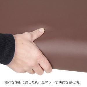 軽量折りたたみエステベッド ( 木製・有孔 ) チョコレート 長さ185×幅70×高さ51〜83cm 「 折りたたみベッド ポータブルベッド マッサージ台 」◆|nshop-y|10