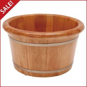 足浴桶_足浴桶 ( Mサイズ )( 専用ビニールシート100枚付 )「 足浴器 ...