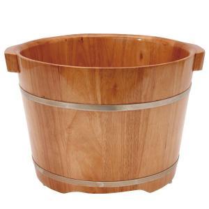 足浴桶 ( Lサイズ ) 取っ手付 ( ビニールシート100枚付 )「 足浴器 足湯器 フットバス器...