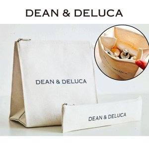 DEAN&DELUCA (ディーン&デルーカ) ランチバッグカトラリーポーチ 小物入れ