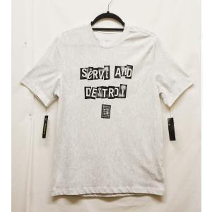 メンズテニスウェア ナイキ(NIKI) 2019FW コートウインブルドンGFXTシャツ BV7015−半袖Tシャツ|nsp-nishinagasports
