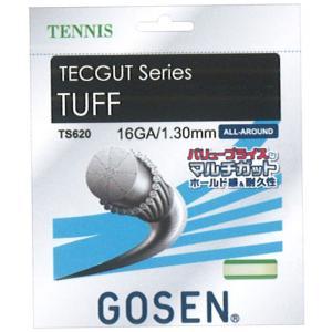 ゴーセン(GOSEN) タフ16 TUFF16 TS620−テニスストリング・ガット