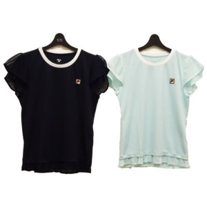 テニスウェアレディース フィラ(FILA) 2020ゲームシャツ VL2126−半袖シャツ