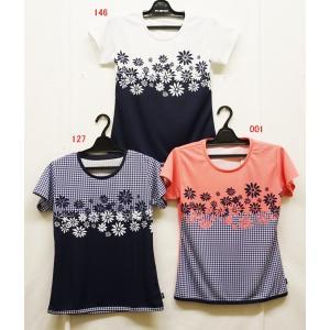 テニスウェアレディース プリンス(prince) 2019半袖ゲームシャツ WL9044−半袖シャツ|nsp-nishinagasports