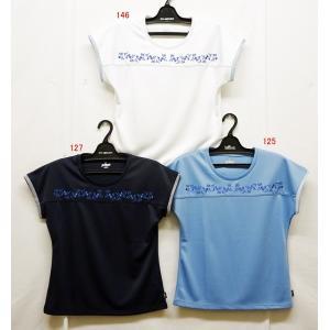 テニスウェアレディース プリンス(prince) 2019半袖ゲームシャツ WL9052−半袖シャツ|nsp-nishinagasports