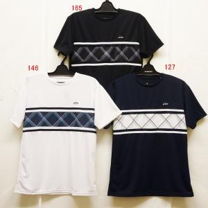 テニスウェアメンズ プリンス(prince) 2019  半袖ゲームシャツ WU9007−ゲームシャツ|nsp-nishinagasports