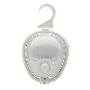 ELPA LEDナイトライト 明暗&人感センサー&常時点灯 切替可能 乾電池式 白色...
