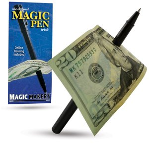 Magic Pen Trick - Magic Makers Original - Easy Pen...