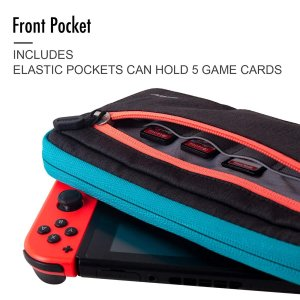 Nintendo Switch キャリングケース 任天堂スイッチ用の収納バッグ 防水 防汚 耐衝撃 ...