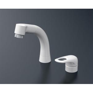 在庫あり! 洗面所用 台付シングルレバー混合栓(シャンプー水栓・引出しシャワー) TL362E1R(旧品番:TL362E1)|nsystemcomm