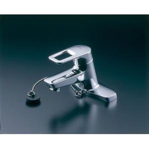在庫あり! 洗面所用 台付シングルレバー混合栓(2穴・ゴム栓式) Hi-Gシリーズ TLHG30EG|nsystemcomm
