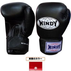 WINDY ウィンディ トレーニンググローブ/ペア BGVH 10oz 赤|nts