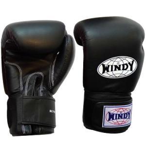 WINDY ウィンディ トレーニンググローブ/ペア BGVH 16oz 黒|nts