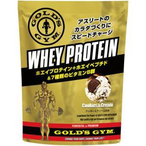 GOLD'S GYM ゴールドジム ホエイプロテイン クッキー&クリーム風味 1,500g 831422|nts
