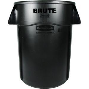 ラバーメイド Vented BRUTE 丸型コンテナ 166L 黒 FG264360BLA 0086876183566|nts