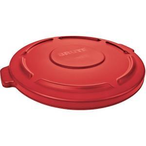 ラバーメイド BRUTE ブルート 丸型コンテナ用フタ 蓋 76L専用 赤 FG261960RED 0086876203066|nts
