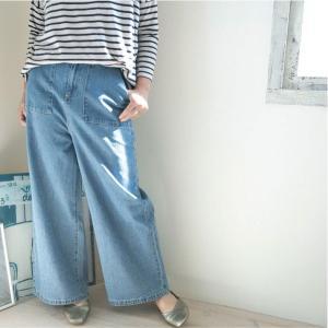 パンツ  ナチュラル服 30代 40代 ゆったり 大きめサイズ カジュアル|ntsen
