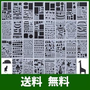 30枚入 テンプレート 手帳 ステンシルシート ジャーナルテンプレート 仕様: ?材質:環境にやさし...