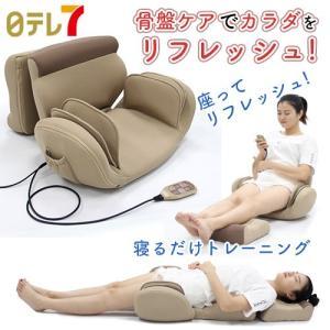 送料無料 ネトレスリム骨盤チェア  お尻 筋肉 エクササイズ 寝姿勢 座る 寝る ntv7